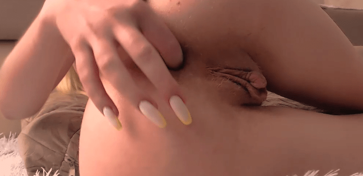 escort with finger in her ass